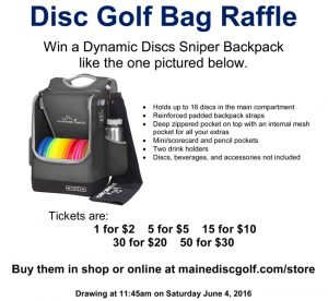 Microsoft Word - Disc Golf Bag Raffle.docx